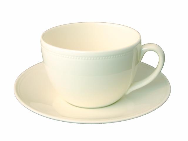 Frühstückstasse & Untertasse - 0,35l