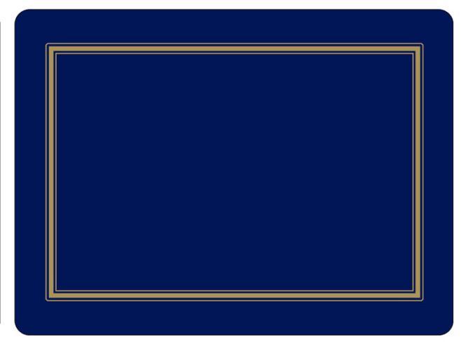 Midnight Classic - Tischsets 6er 23x30cm