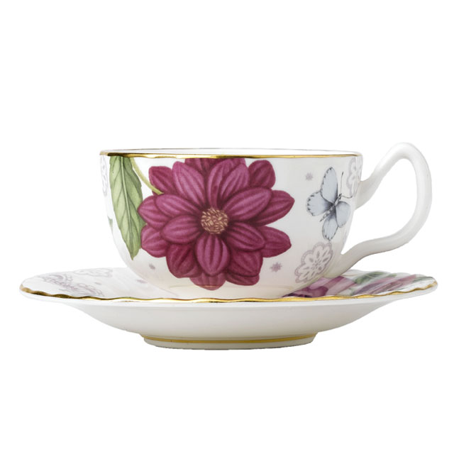 Teetasse & Untertasse Oban Rose - 0,2l