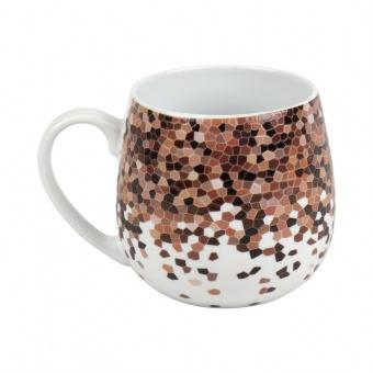 Kuschelbecher Coffee Mosaic - 0,42l