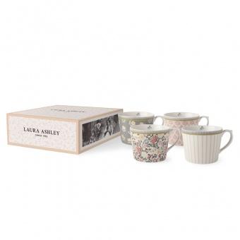 Becher 4er Set Tea Collection Flower - 0,32l