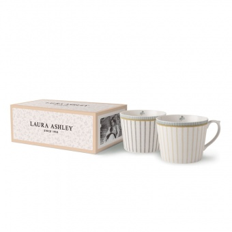 Becher 2er Set Tea Collection Stripe - 0,32l