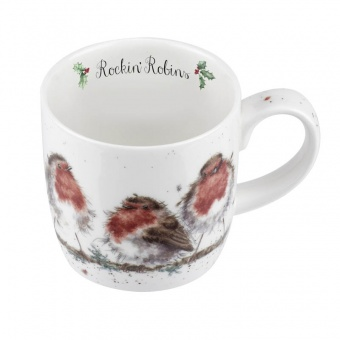 Wrendale Becher Rockin Robin - 0,31l
