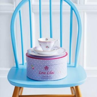Teegedeck 3tlg. -  Love Lilac
