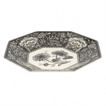 Platte achteckig Heritage Flora - 35,5cm