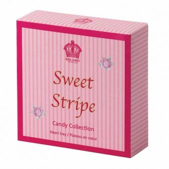 Herzschale Sweet Stripe - 13cm