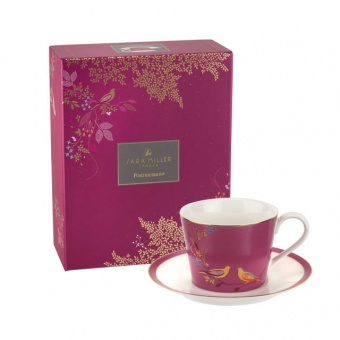 Tasse & Untertasse Chelsea Pink - 0,2l
