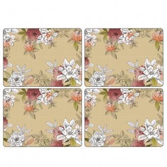 Floral Sketch - Tischsets